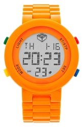Lego 'Digifigure' Bracelet Watch 42Mm Orange