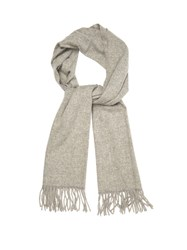 Acne Studios Canada Narrow Wool Scarf Grey