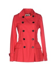 313 Tre Uno Tre Suits And Jackets Blazers Women Coral