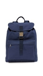 A.P.C. Clip Backpack Dark Navy