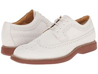 Sperry Gold Bellingham Long Wingtip Nubuck W Asv Ivory Brick Men's Lace Up Wing Tip Shoes Red