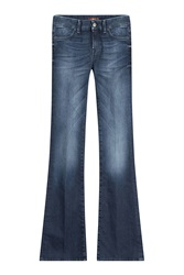 7 For All Mankind Seven For All Mankind Flared Jeans Blue