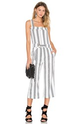 Shades Of Grey Utility Jumpsuit White
