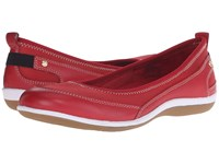 Revere Charlotte Red Mesh Women's Flat Shoes