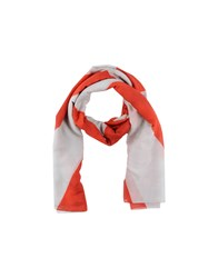 Roda Accessories Oblong Scarves Men Red