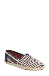 Women's Toms Stripe Espadrille Slip On