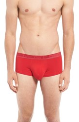 Andrew Christian Men's 'Almost Naked Premium' Boxer Briefs Red