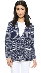 See By Chloe Marled Cardigan True Blue