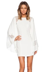 Bless'ed Are The Meek Congo Dress White