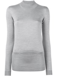Stella Mccartney Stone Turtle Neck Sweater Grey