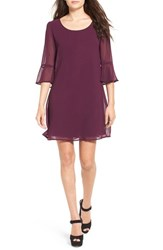 Speechless Women's Bell Sleeve Shift Dress Raisin Jm