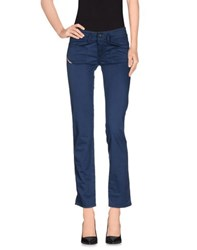 Diesel Trousers Casual Trousers Women Blue