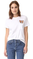 Paul And Joe Sister X Tom Jerry Pocket Tee Blanc