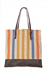 Canvas Tote With Gray Trim Edition01