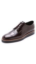 Vince Dylan Derby Shoes Cordovan