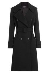 Paule Ka Virgin Wool Coat Black