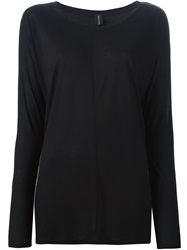 Alexandre Vauthier Long Sleeve T Shirt Black