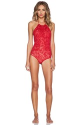 Beach Riot X Revolve Rosemary Swimsuit Red