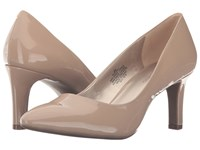 Bandolino Rany Caf Latte Patent Women's Shoes Beige