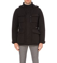 Hugo Boss Utility Hooded Jacket Black