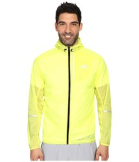 New Balance Lite Packable Jacket Firefly Men's Coat Red