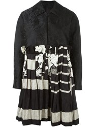 Antonio Marras Patchwork Coat Black