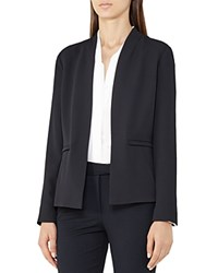 Reiss Bailey Open Front Blazer Night Navy