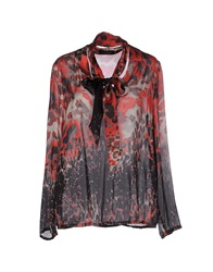 Piazza Sempione Blouses Red