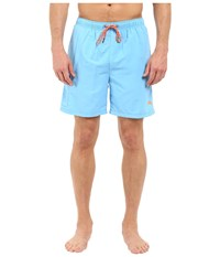 Tommy Bahama The Naples Happy Go Cargo 6 Swim Trunks Lol Blue Men's Swimwear