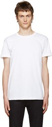 Naked And Famous White Seamless T Shirt