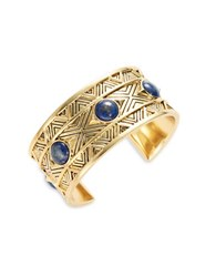 House Of Harlow Dorelia Coin Cuff Bracelet Gold