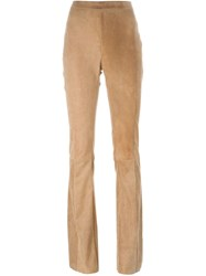 Drome Bootcut Trousers Brown
