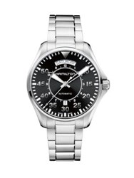 Hamilton Stainless Steel Automatic Watch Silver