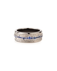 Stephen Webster Men's Silver Sapphire Ring