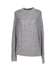 Theyskens' Theory Turtlenecks Light Grey