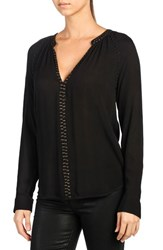 Paige Women's 'Gianna' Studded Blouse