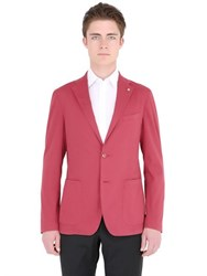 Tagliatore Stretch Heavy Cotton Poplin Jacket