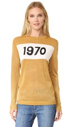 Bella Freud Sparkle 1970 Jumper Gold