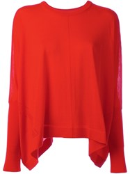 Kenzo Loose Fit Jumper Red