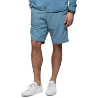 Oliver Spencer Light Indigo Drawstring Shorts Blue