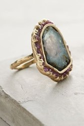 Anthropologie Enchanted Forest Ring Gold