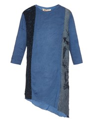 By Walid Kimono Patchwork Cotton Top