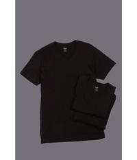 2Xist 3 Pack Essential Jersey V Neck T Shirt Black Men's T Shirt