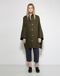 Mackintosh Hooded Cape Olive