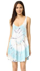 Blue Life Babydoll Tank Dress Ocean Dream