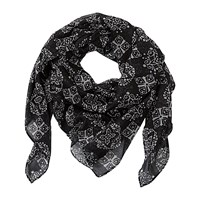 Betty Barclay Scarf Black Beige