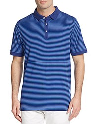Callaway Striped Polo Shirt Blueprint
