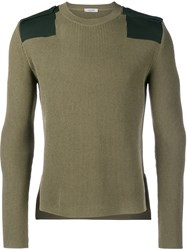 Valentino Army Jumper Green