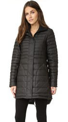 Hunter Original Refined Short Down Coat Black