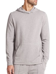 Saks Fifth Avenue Pullover Hoodie Grey